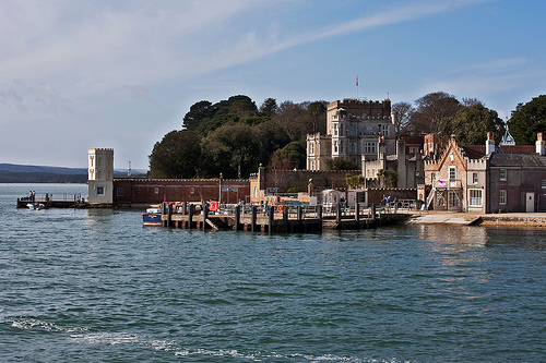 Approaching Brownsea Island