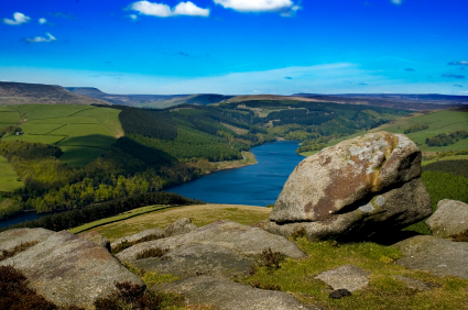 Ladybower Reservoir Peak District, Derbyshire, UK