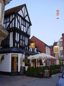 The birdcage pub in thame
