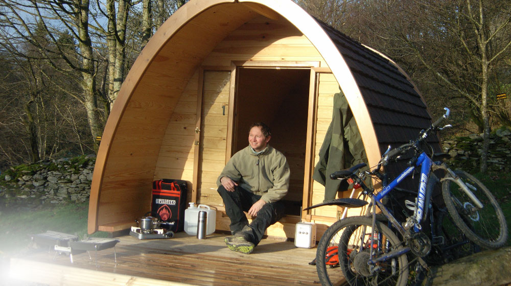 camping pod from camping pods uk