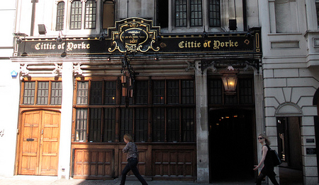 CIttie of York pub London