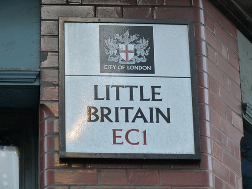 Little Britain EC1 Sign London