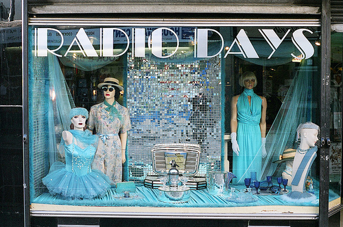 Radio Days - Lower Marsh, Waterloo