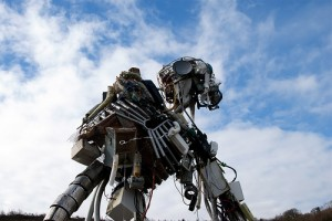 Robot at the Eden project